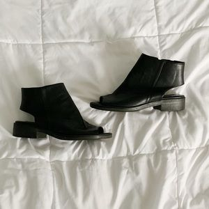 Forever 21 Cutout Booties